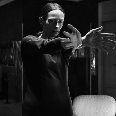 Tilda Swinton as Madam Blanc stars in Suspiria