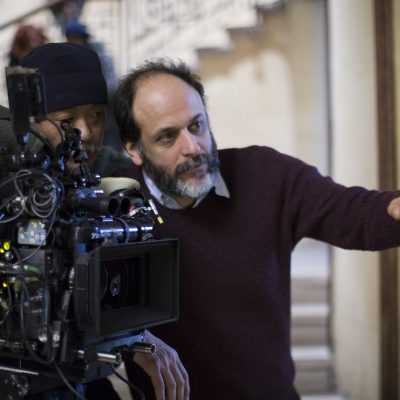 Cinematographer Sayombhu Mukdeeprom and Director Luca Guadagnino on the set of SuspiriaSuspiria